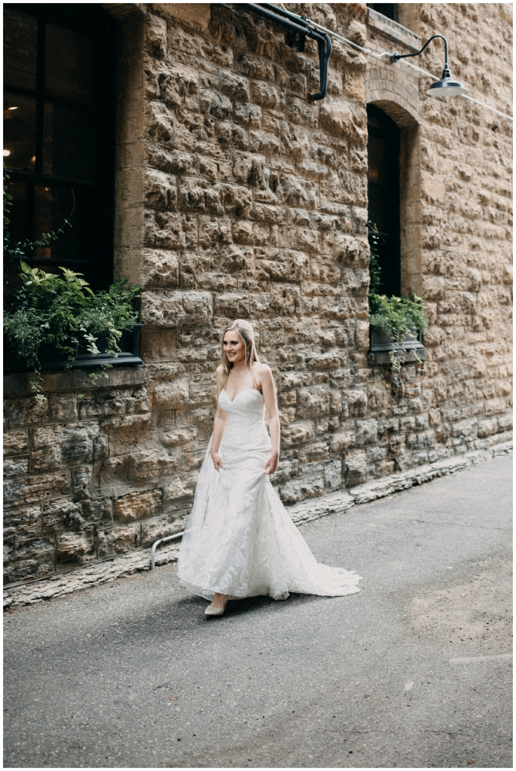 Minneapolis Minnesota industrial inspired wedding