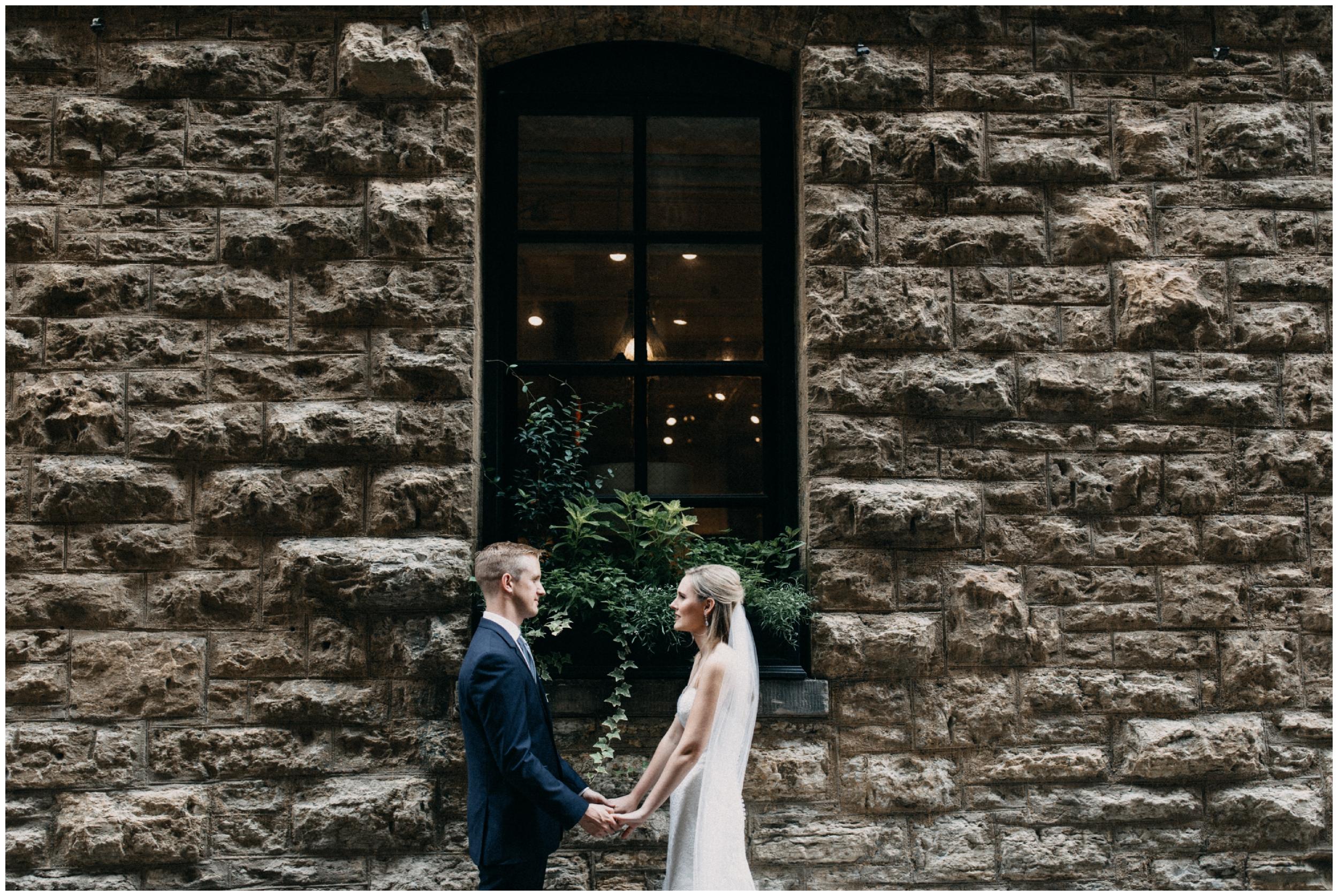 Industrial chic wedding in Minneapolis Minnesota