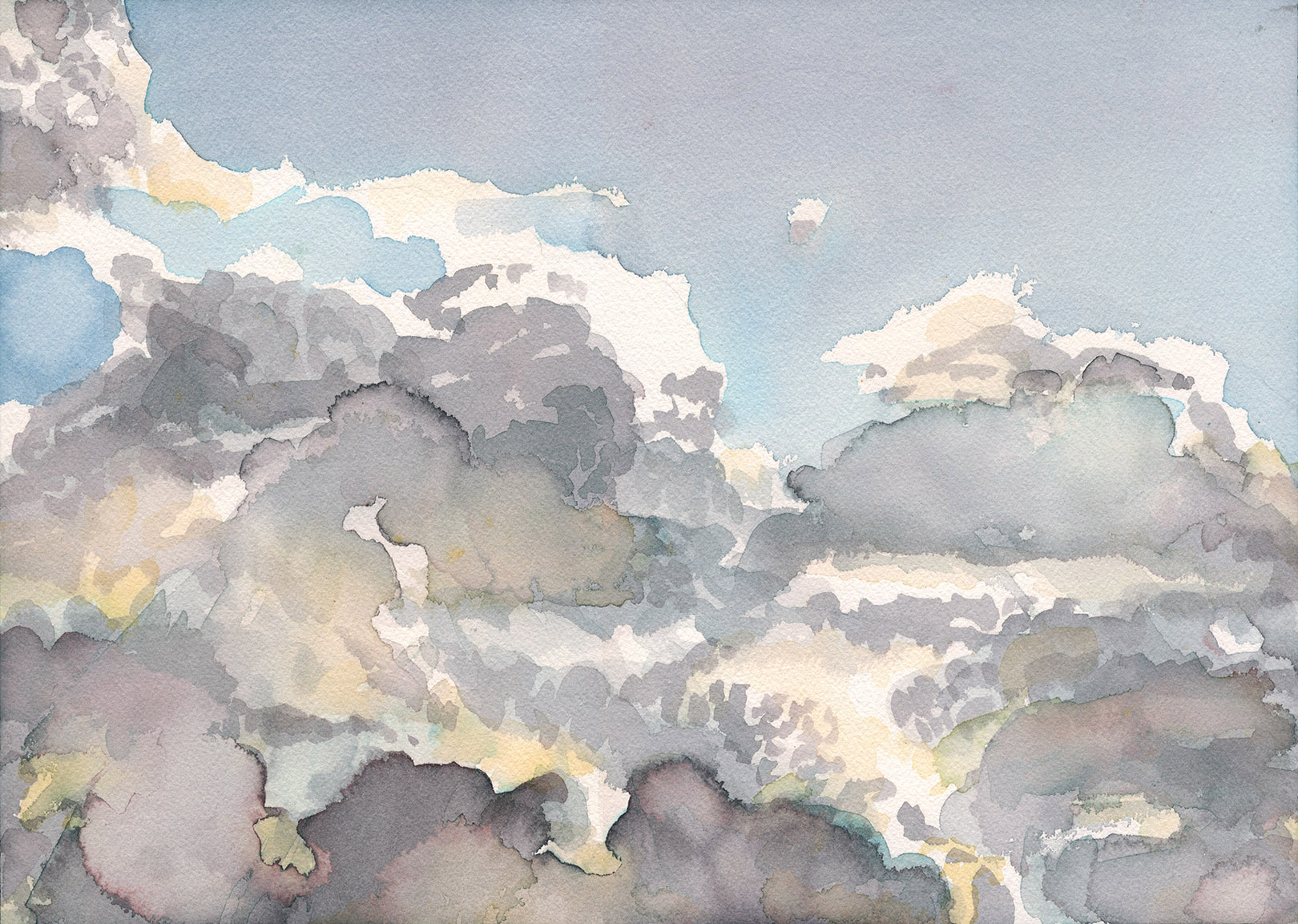 Clouds, end of day