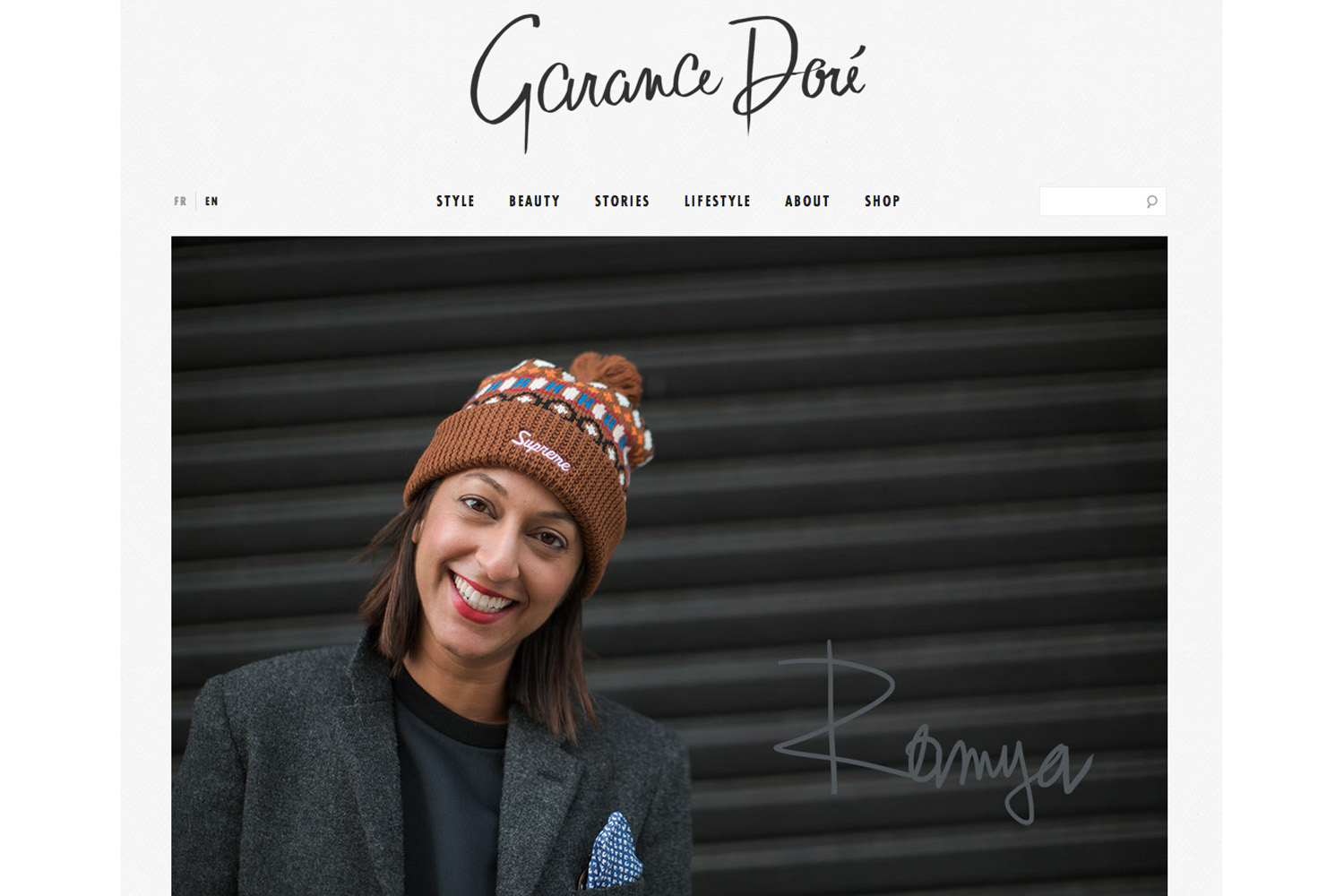 Garance Dor  é   | Feature