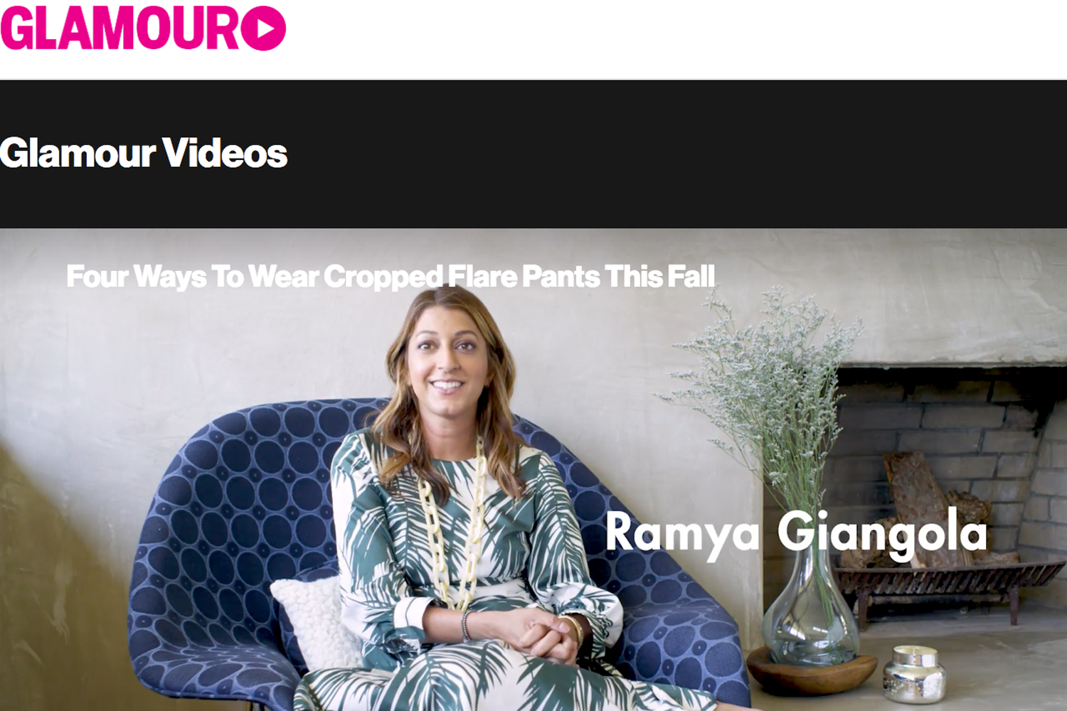 Glamour x eBay Fashion   | Campaign  [ video ]
