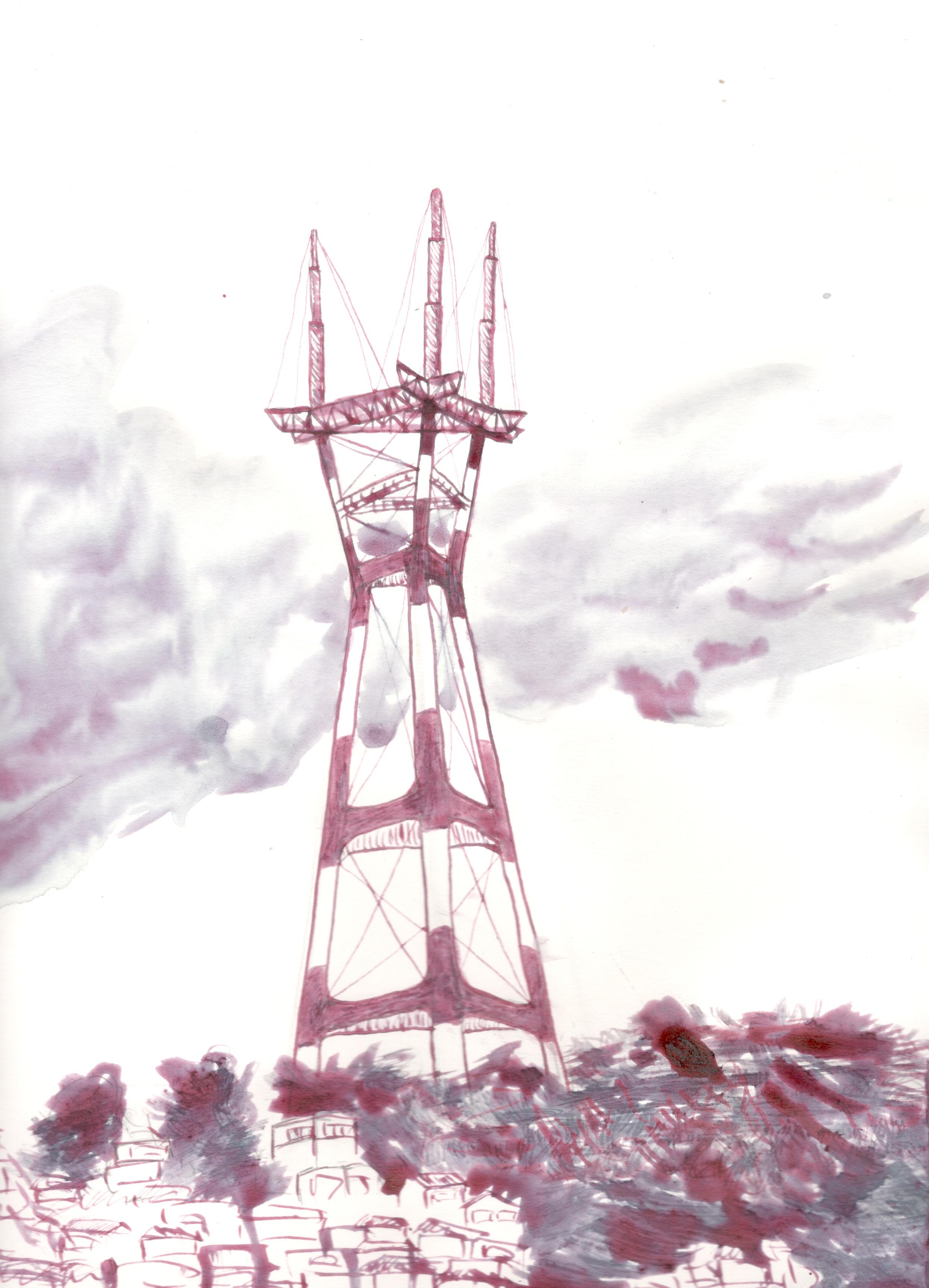 Sutro Tower, 2019