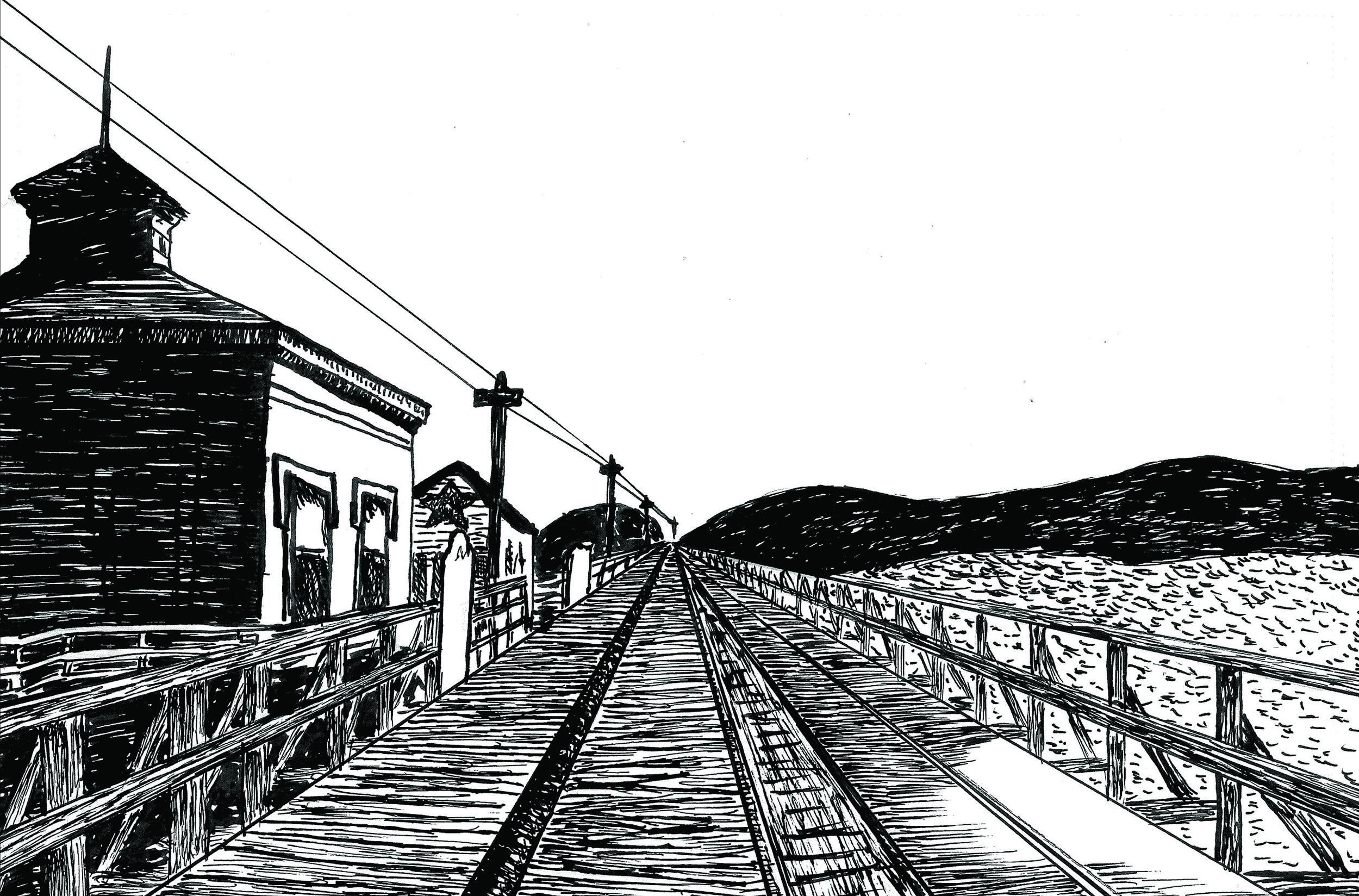 The Long Bridge, 1867