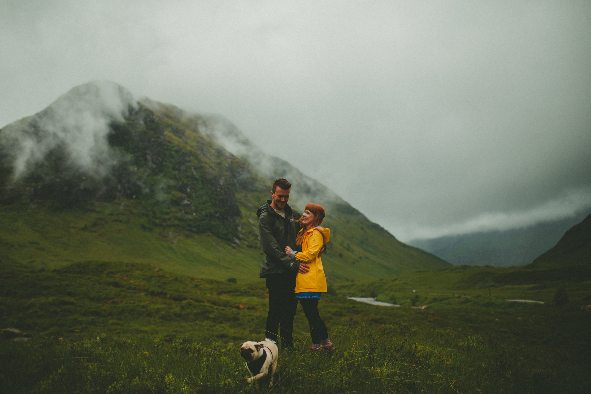 Kayley, John + Frank - Glen Etive | June 2017