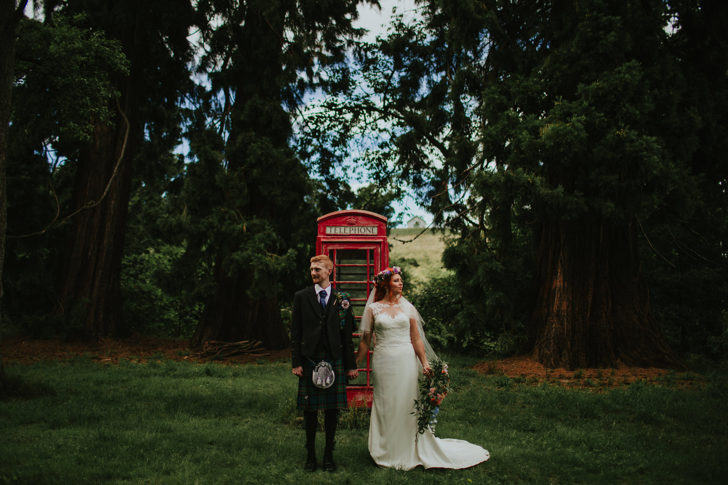 Reona + John - Fingask Castle | Aug 2018