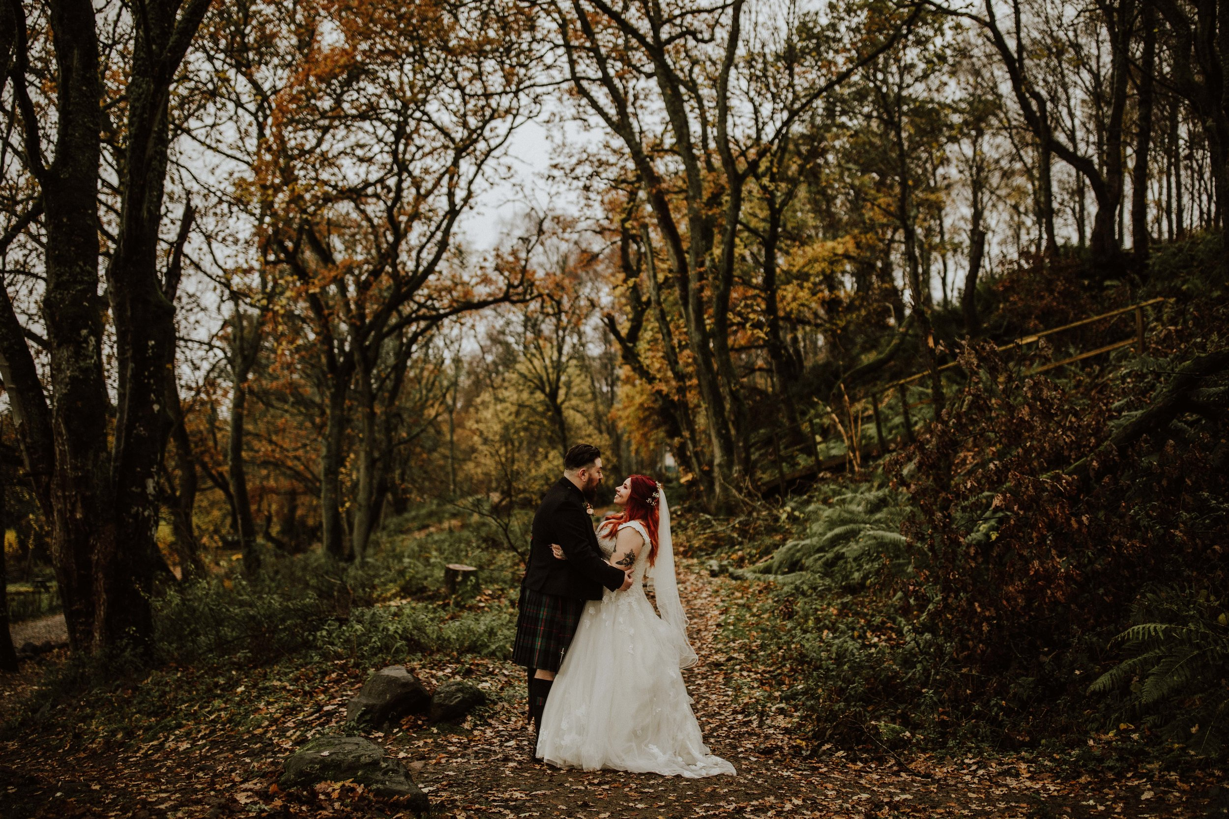 Connor + Ellie - Comrie Croft | November 2018