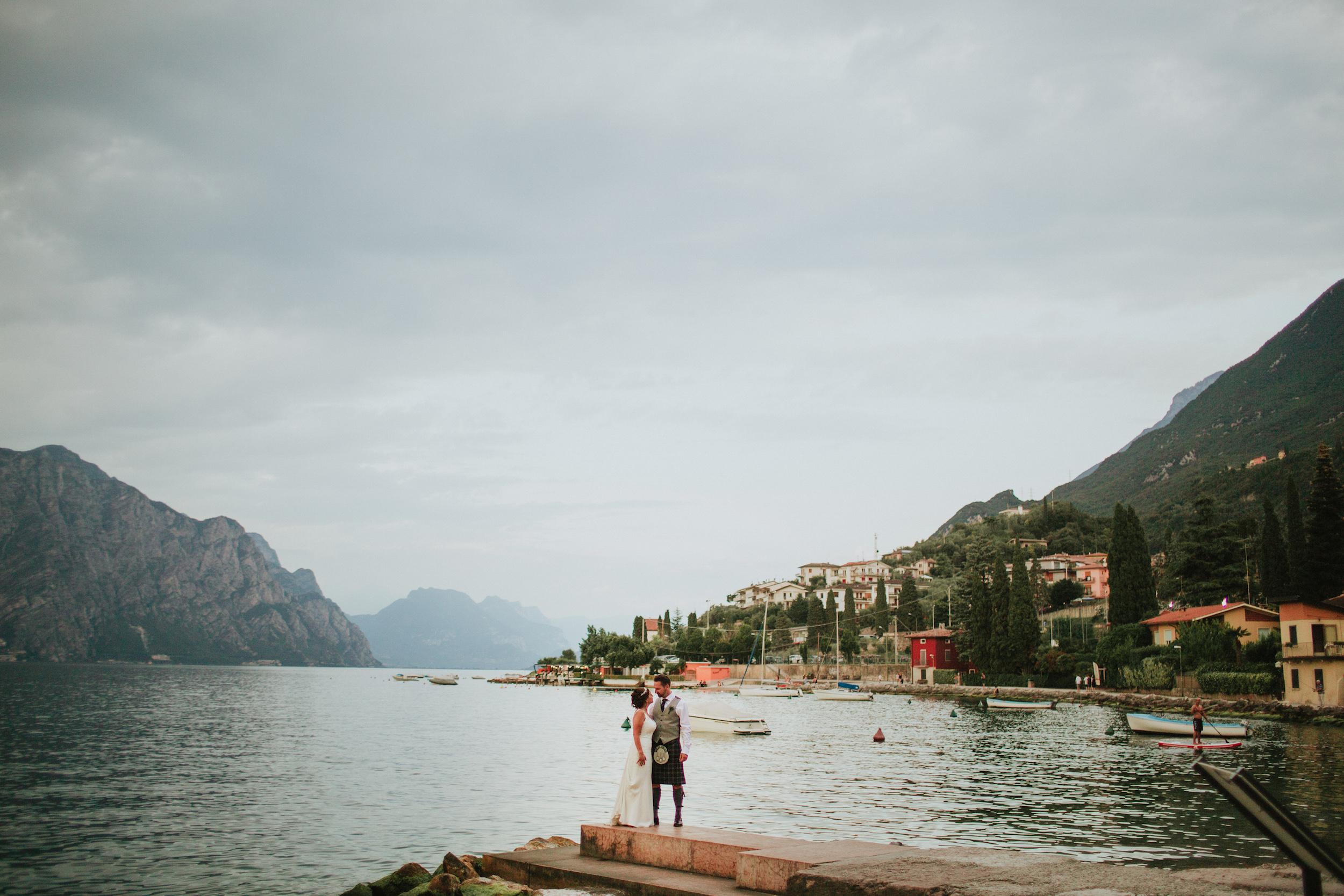 Nick + Lorraine - Malcesine, Italy