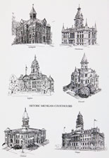 Historic Michigan Courthouses