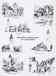 Historic Lighthouses of Lake Huron