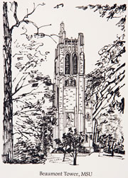 Beaumont Tower, Michigan State University