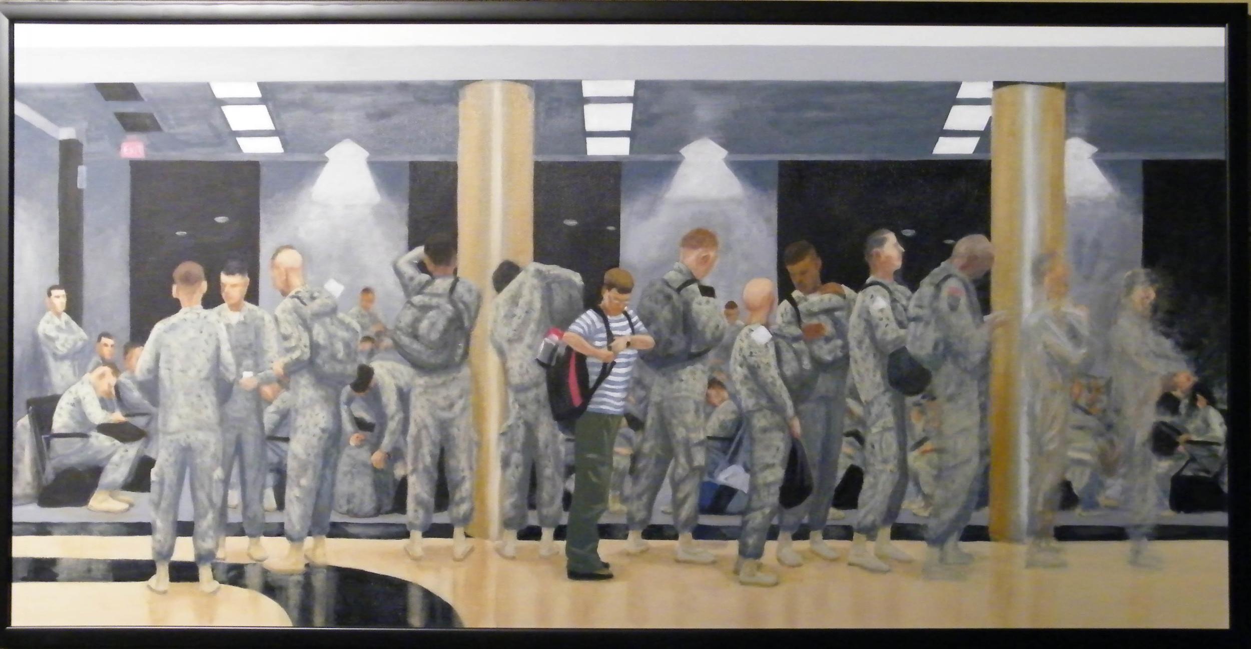 """Julie Sabit, """"Atlanta Airport"""""""
