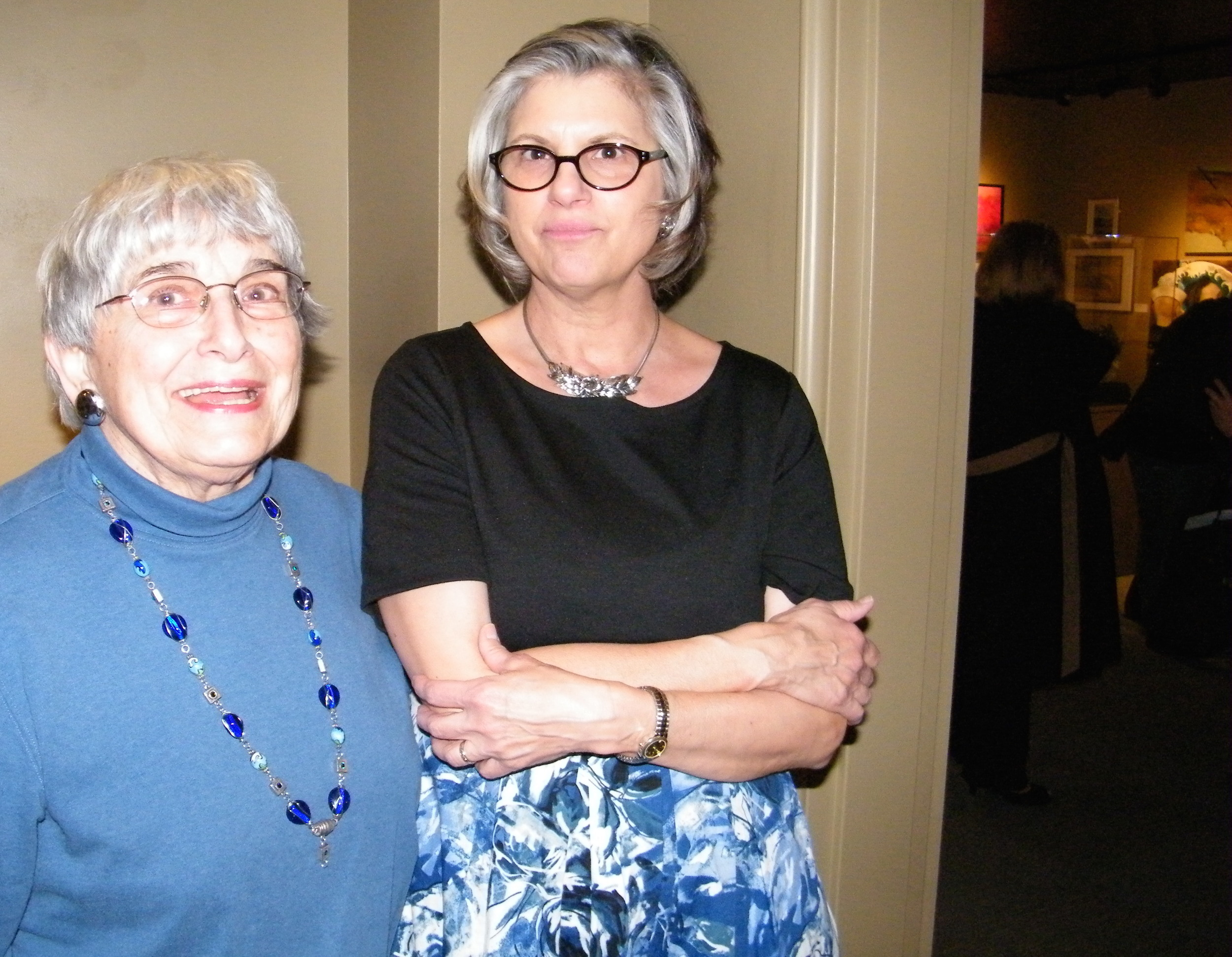 Julie Sabit and Jackie Rybinski, Exhibition Co-Chairs