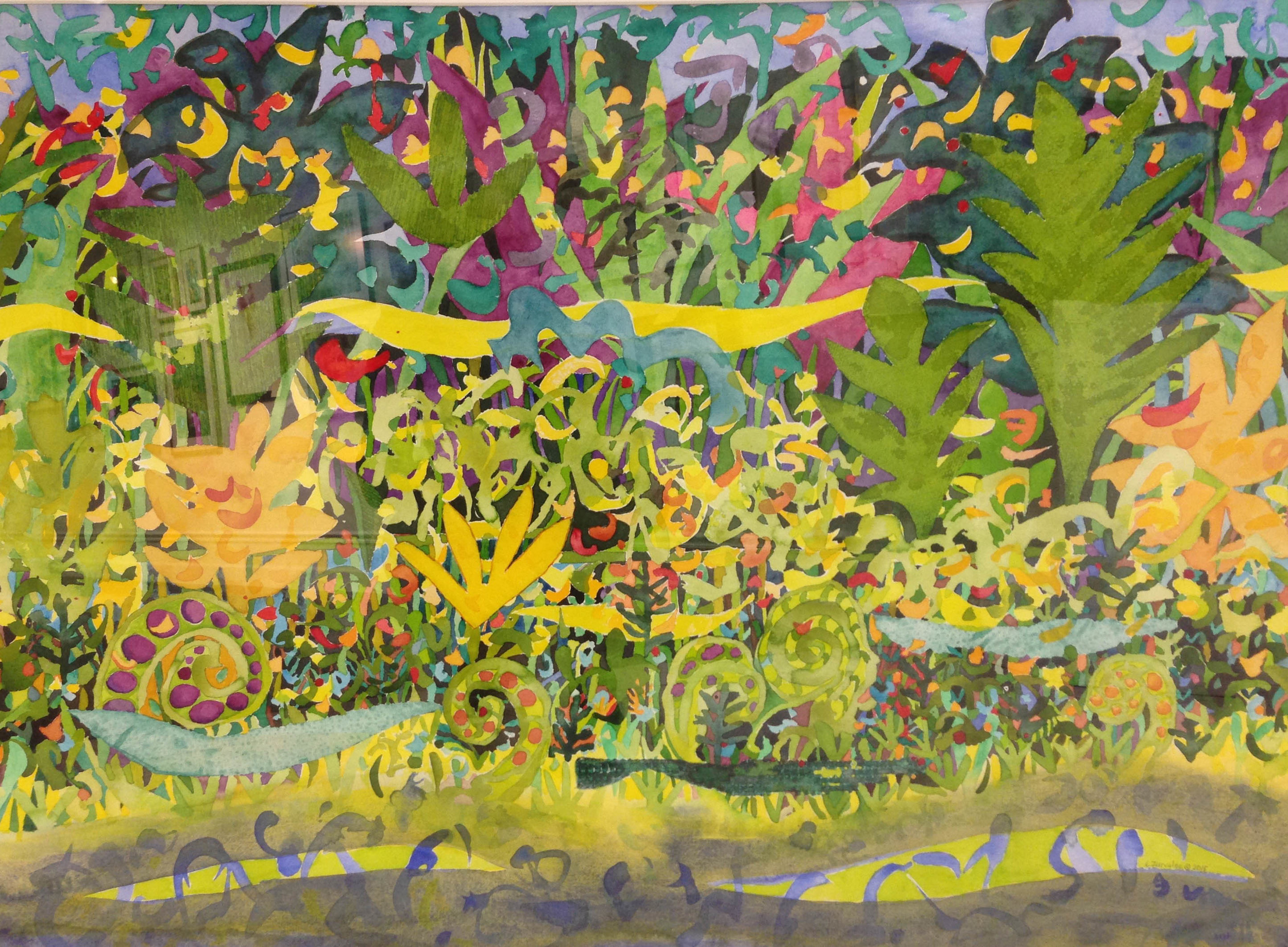 """Lori Zurvalec, """"Song of Praise no. 3,"""" honorable mention"""