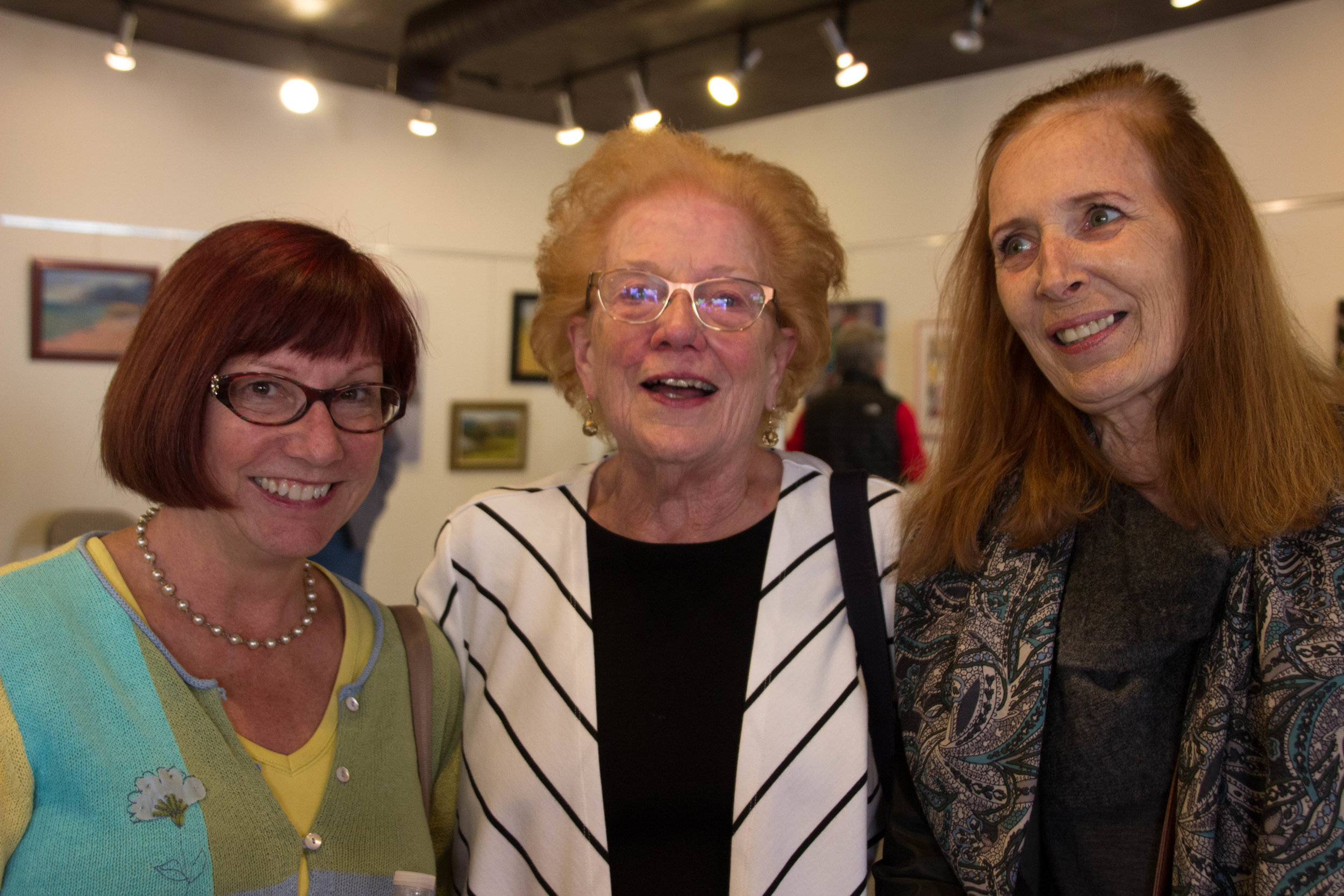 Linda Allen, Bette Prudden (Honorable Mention), and Colleen Taylor West
