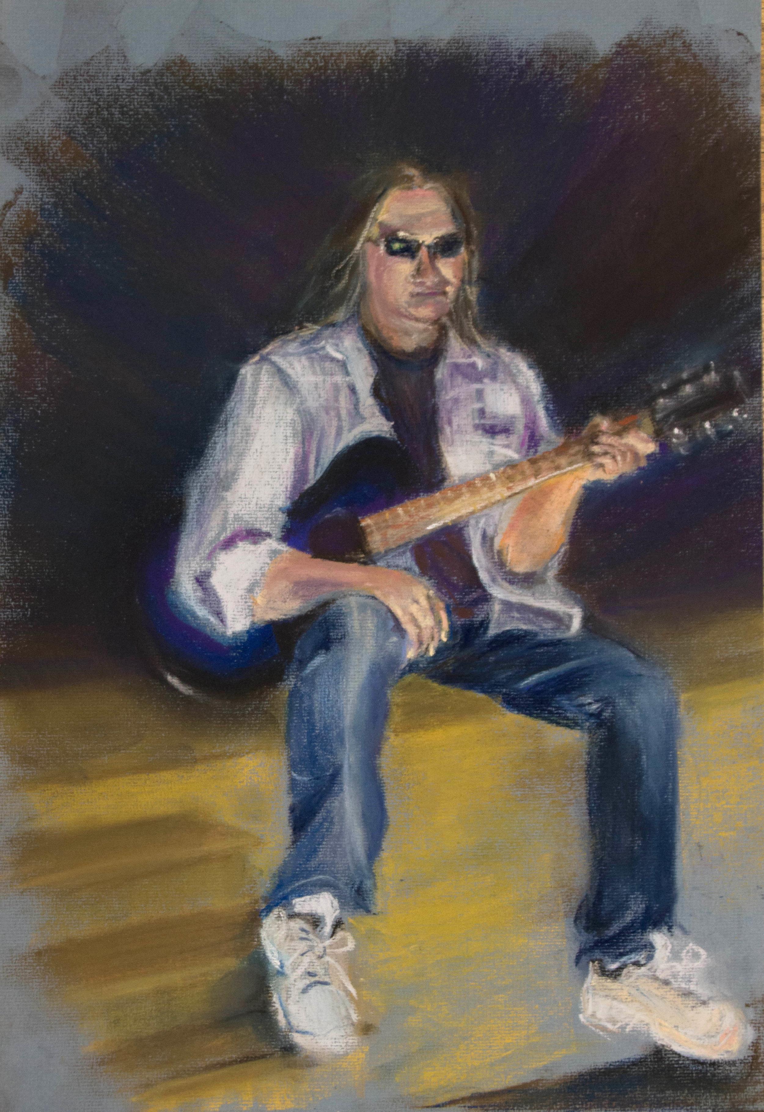 Rocker, pastel