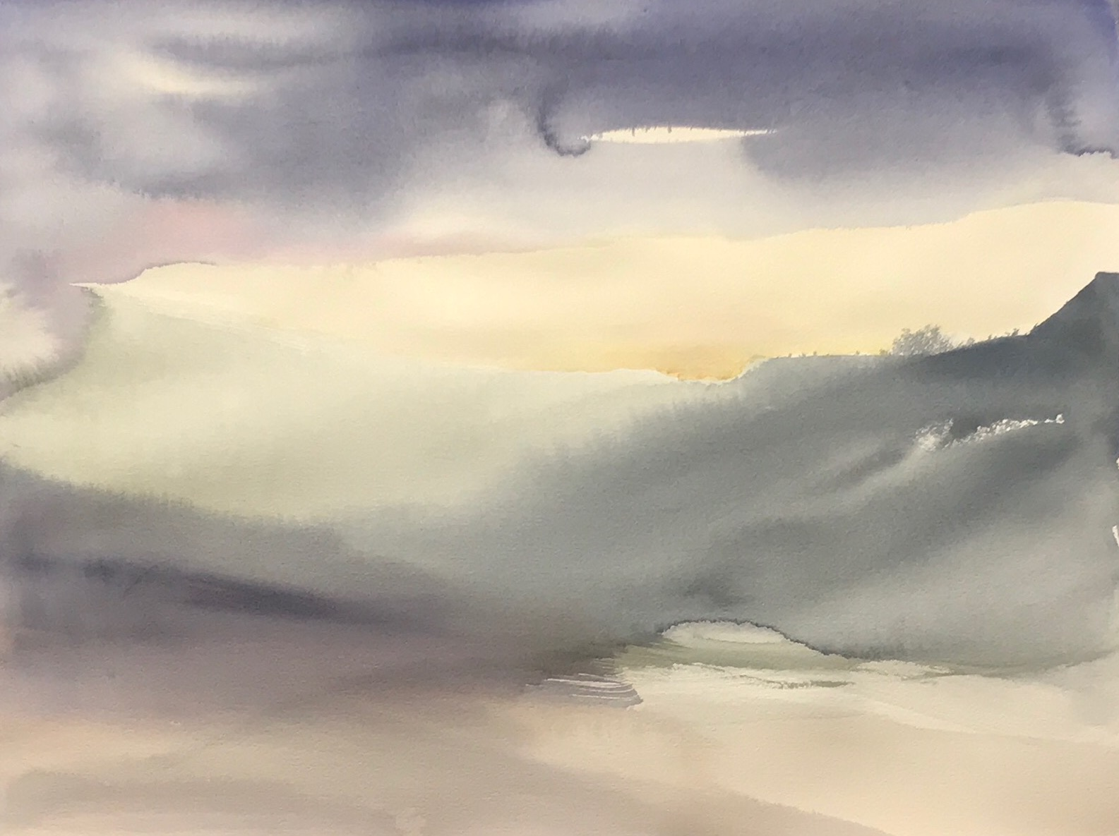 Dawn (water color)