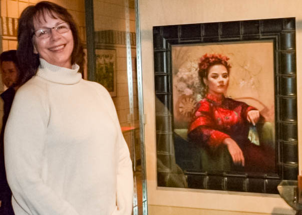 Susan Perrish and Madame Butterfly