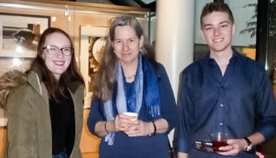 Madonna University students with Dr. Christine Seguin