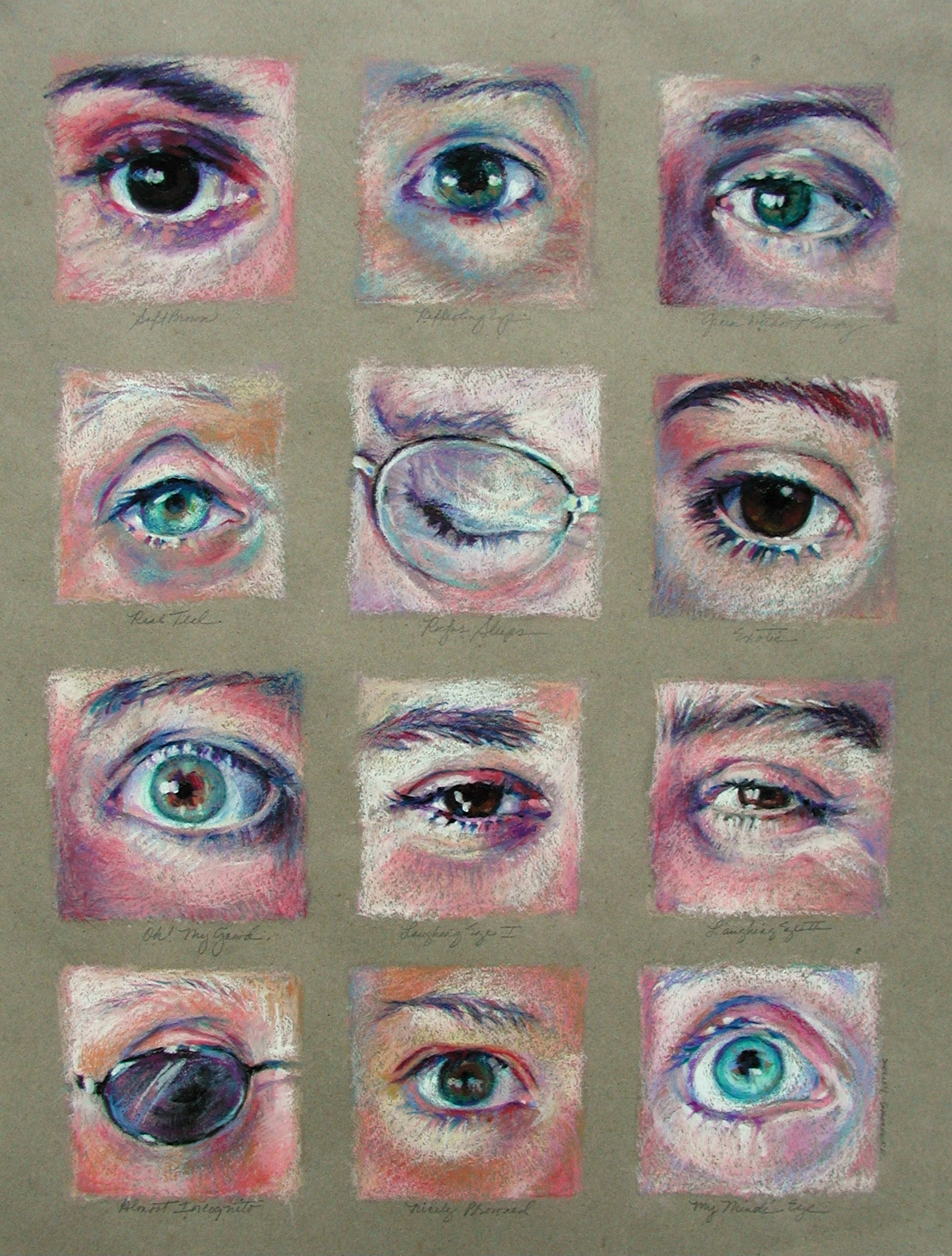 Keys Eye Chart