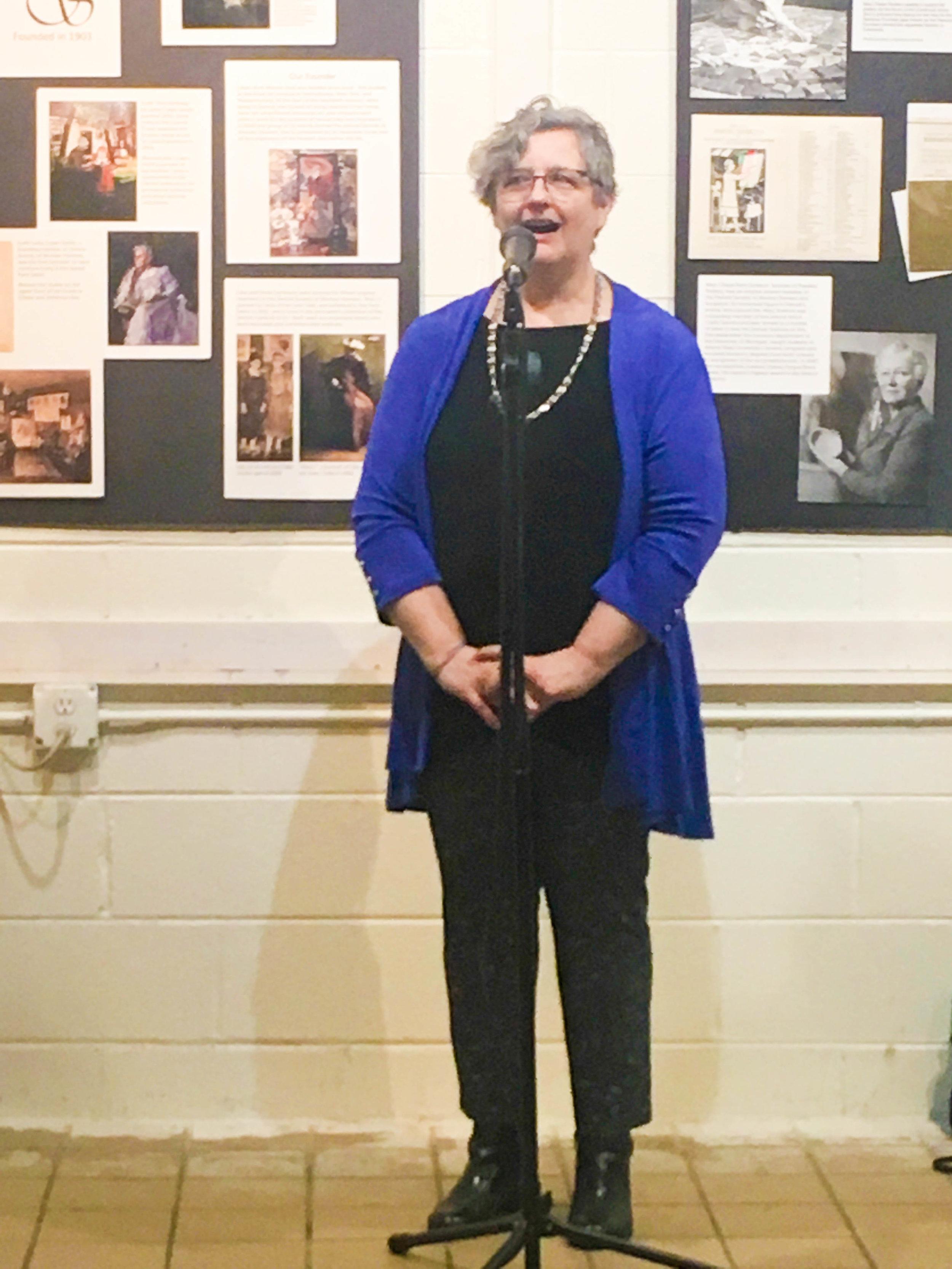 President Joan Smykowski