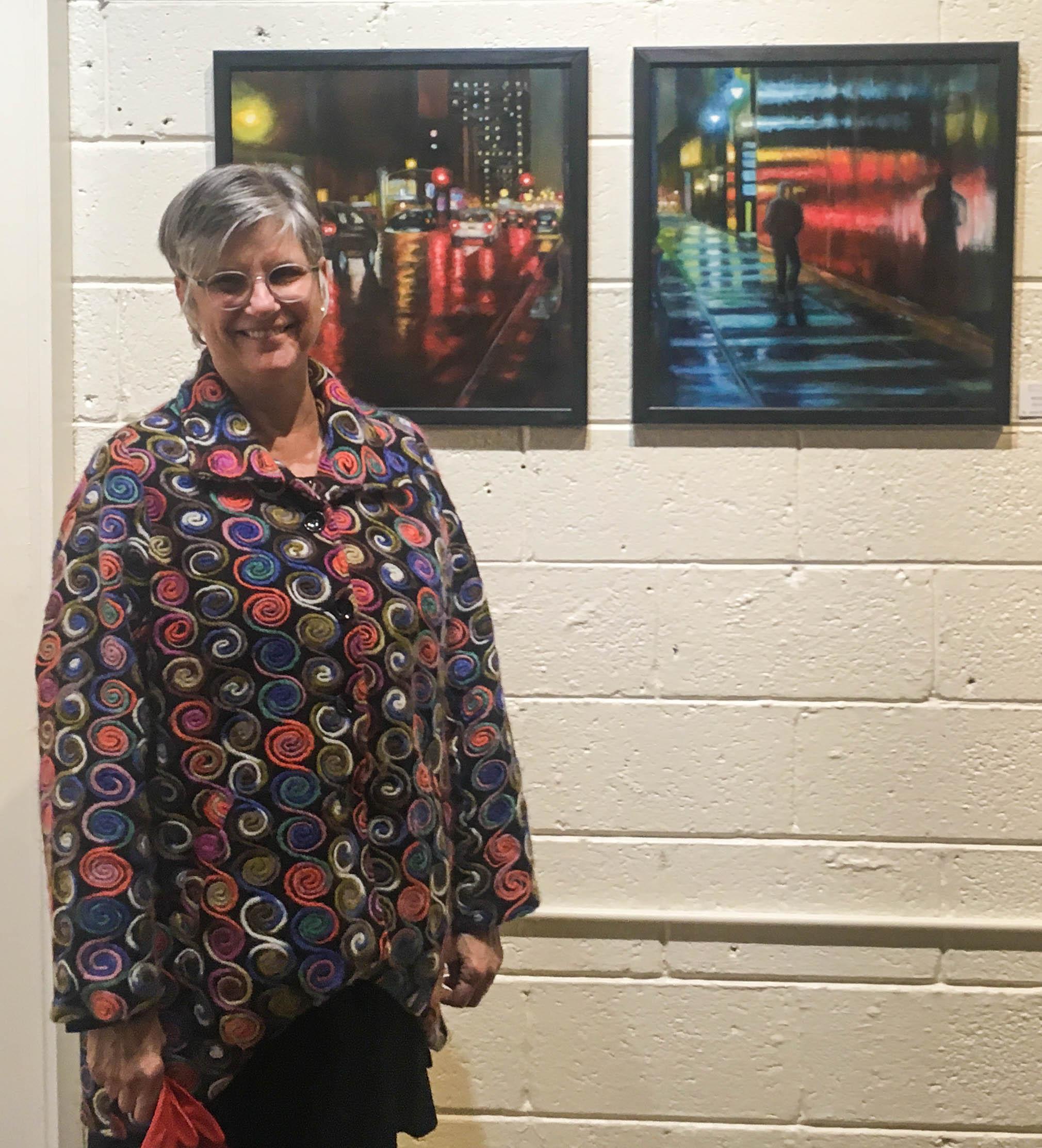 Former DSWPS President Jackie Rybinski