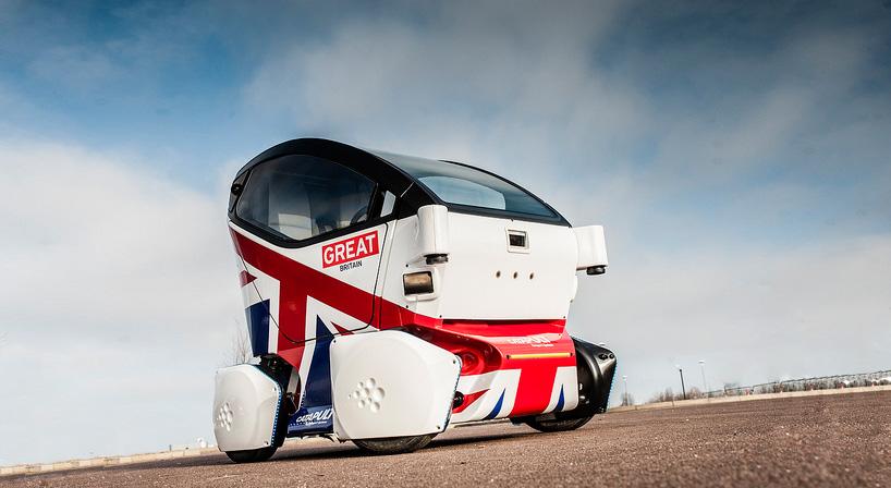 A driverlessLutz Pathfinder pod. Great, isn't it?