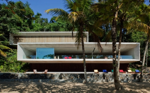 Paraty House, by Brazilian architectsStudio MK27 —who have been commissioned to work with Caravanserai.