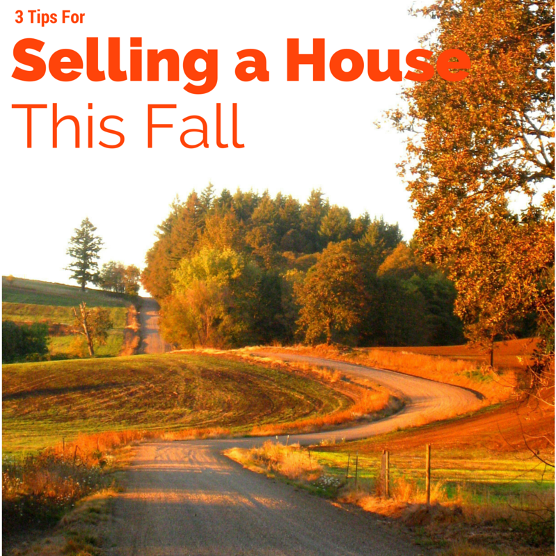 Specific Tips for Selling Your Lakeville MN House this Fall