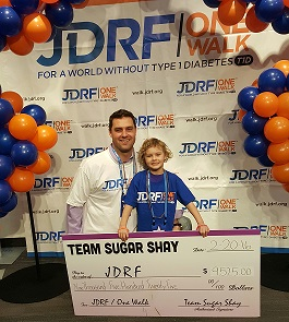 Tim Murphy -- Raising Funds for JDRF an Organization Close To His Heart