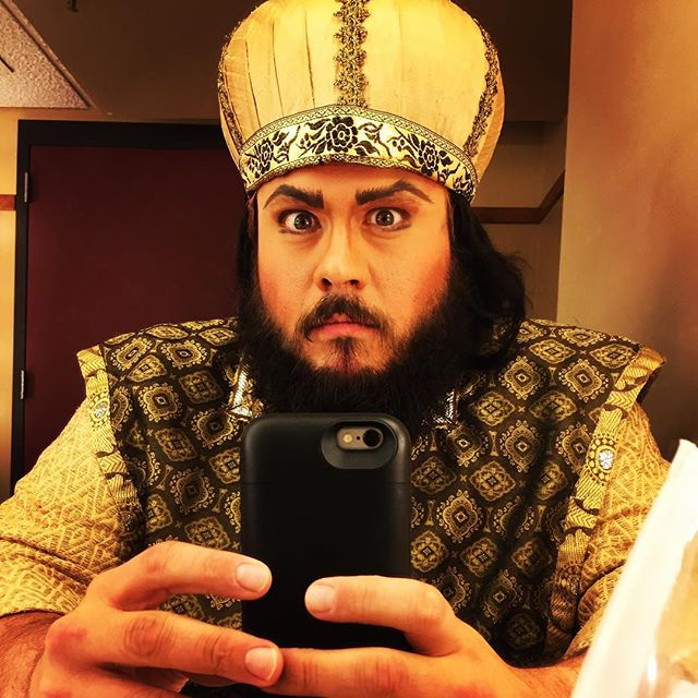First Jew - Salome. Pittsburgh Opera. Nov. 5, 2016.
