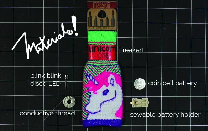 blink blink + freaker LED party