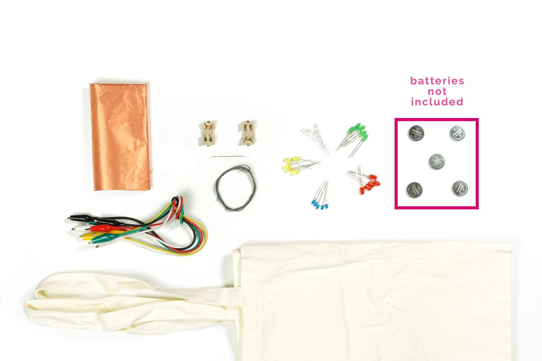 blink blink wearable tech kit