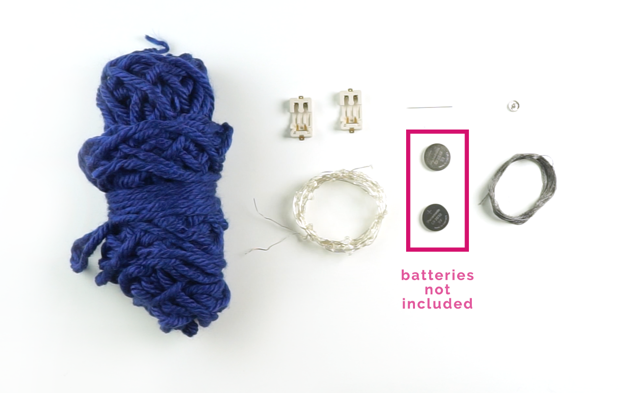 blink blink Sparkle Scarf Kit