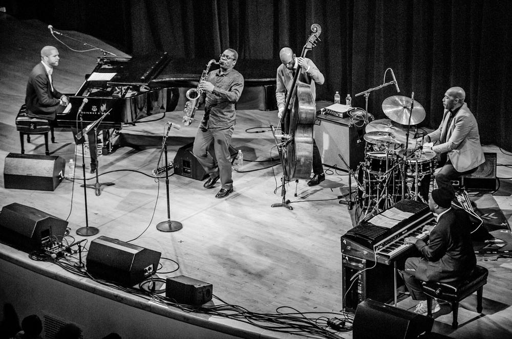 WJF Blue Note Records 75th anniversary concert with Jason Moran & Robert Glasper. Photo: Bart Babinski