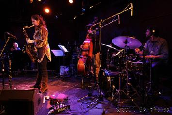 Anat Cohen Quartet at Winter Jazzfest 2011. By Greg Aiello. Published in  Jazz Times.