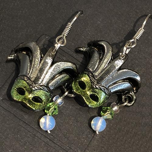 Mask Earrings