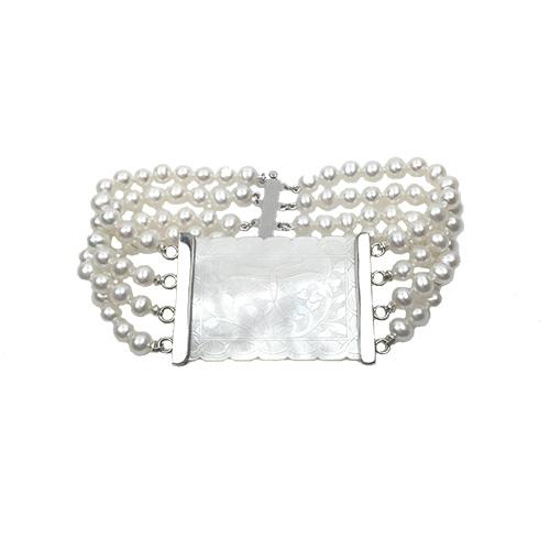 14K Imperial Garden Bracelet