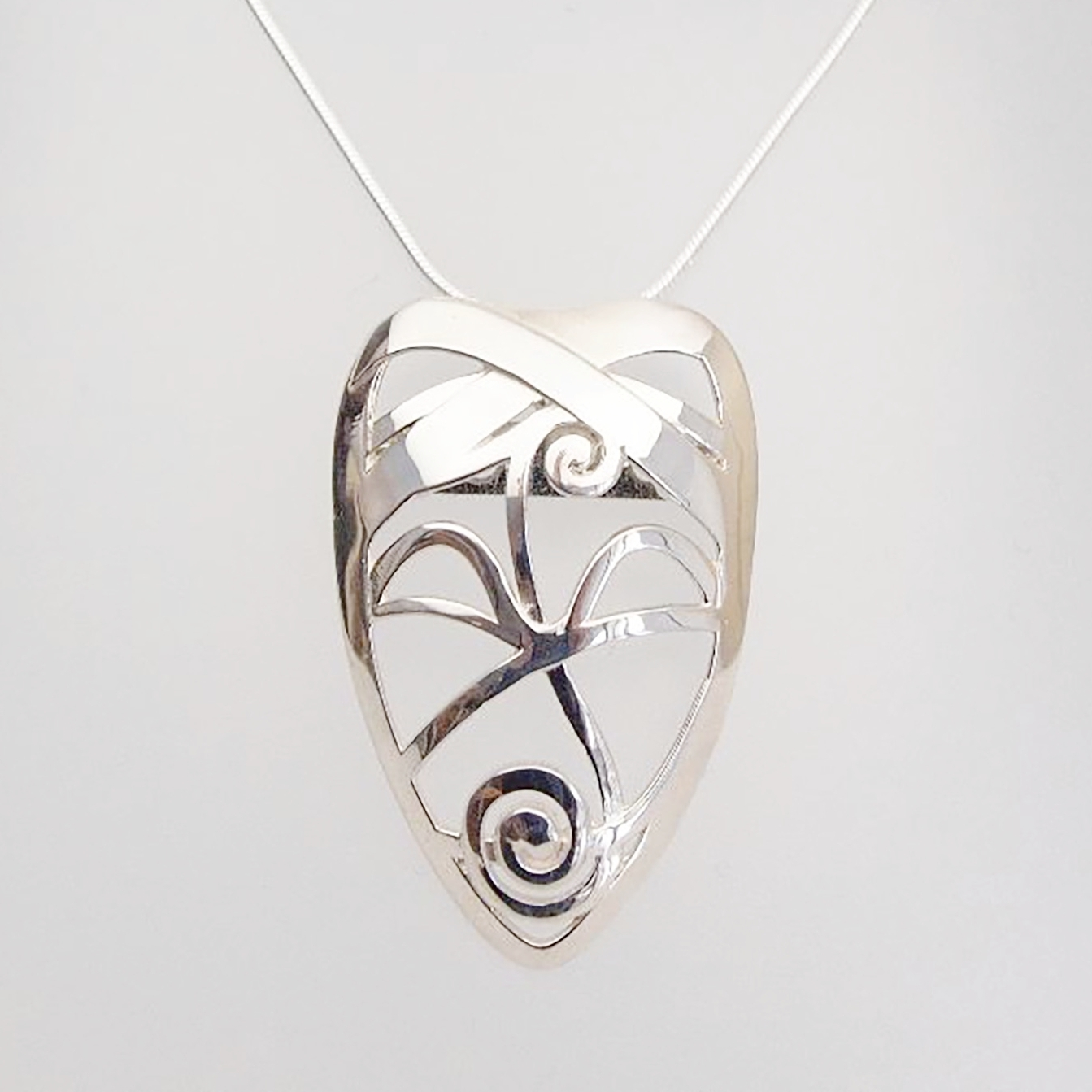 Sterling Abstract Mask