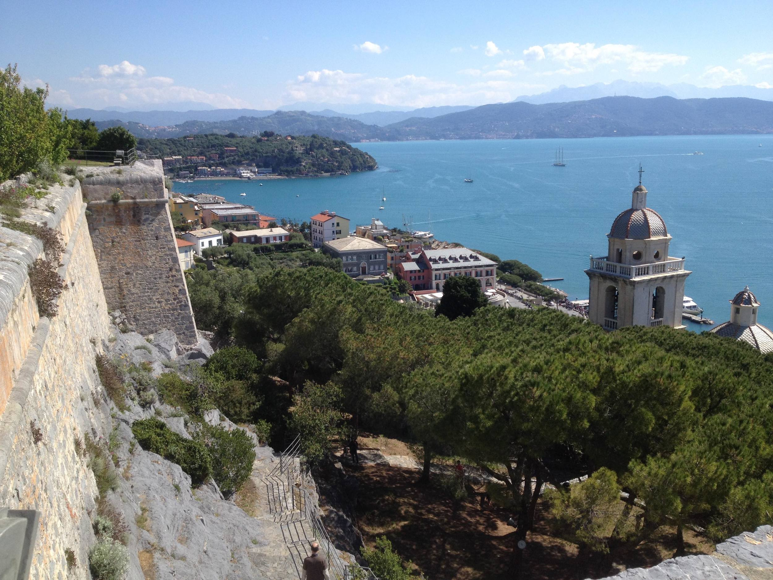 Portovenere from the fort