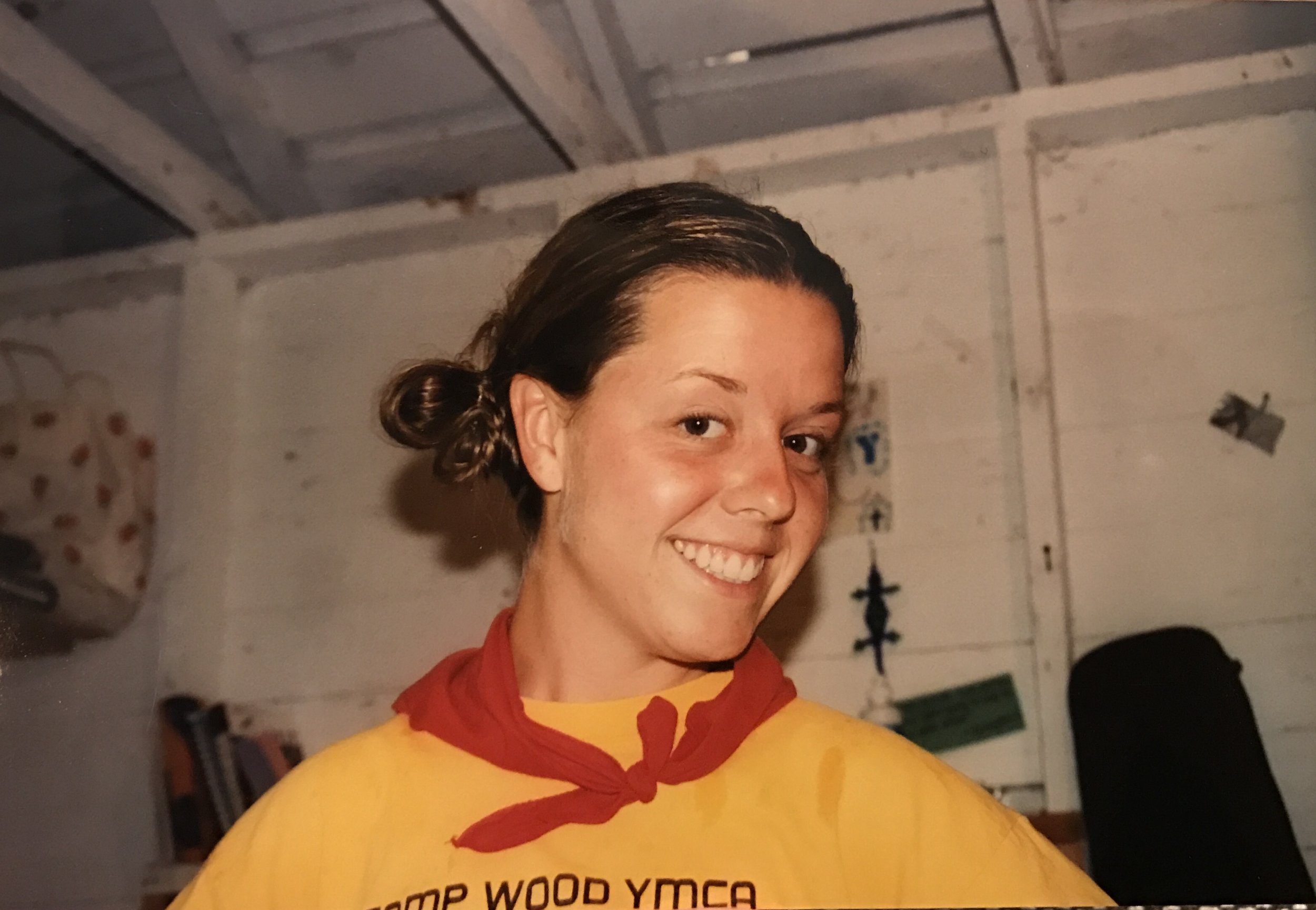 Sarah Baade spent 15 summers at Camp Wood YMCA--as a camper, volunteer and later, as a staff member.