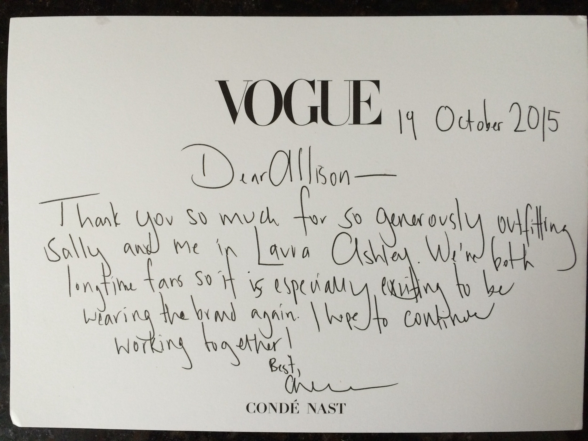 From Vogue