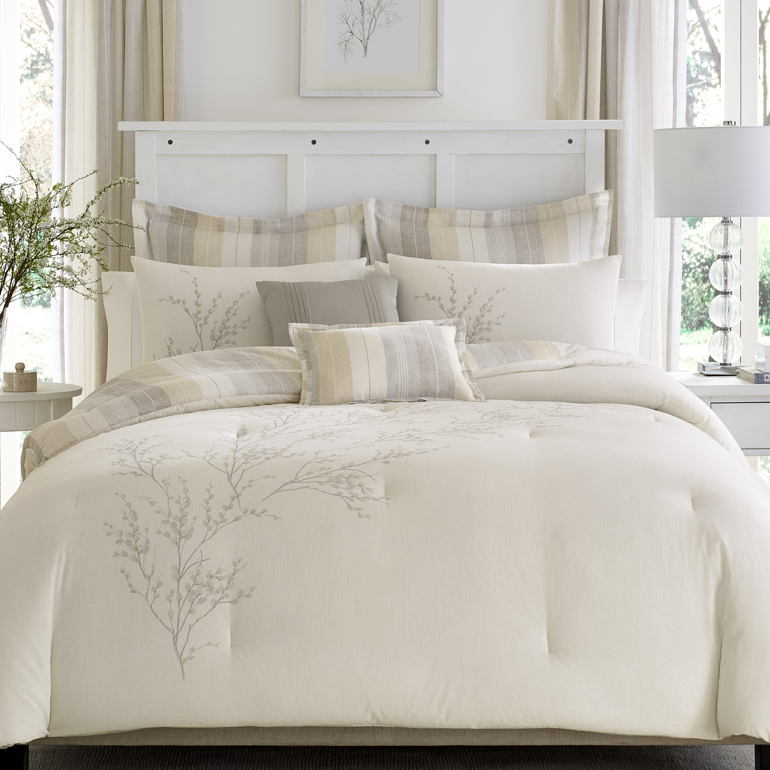 Laura Ashley  Willow collection available at Bon Ton