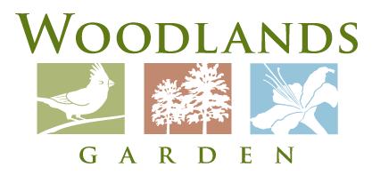 Woodlands Garden Logo