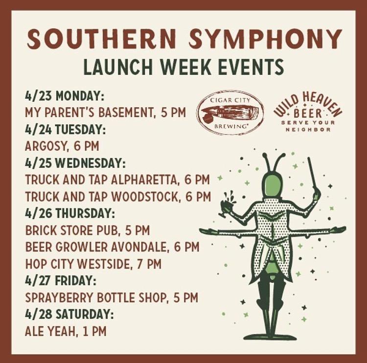 Southern Symphony Launch Week