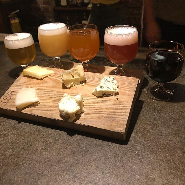 May Beer and Cheese starting now! Featuring beers from @trimtabbrewing including 205 Pale Ale, Original 006 Hazy Double IPA, Paradise Now, Imperial Euphoria Now, and Five. Come get these pairings and hang out with some of the brewers! #beer #cheese #beerpairing #albeer #atlbeer #deliciousaf
