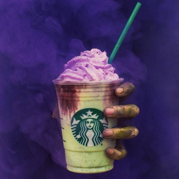 Starbucks Zombie Frappuccino. Obtained from E! Online.