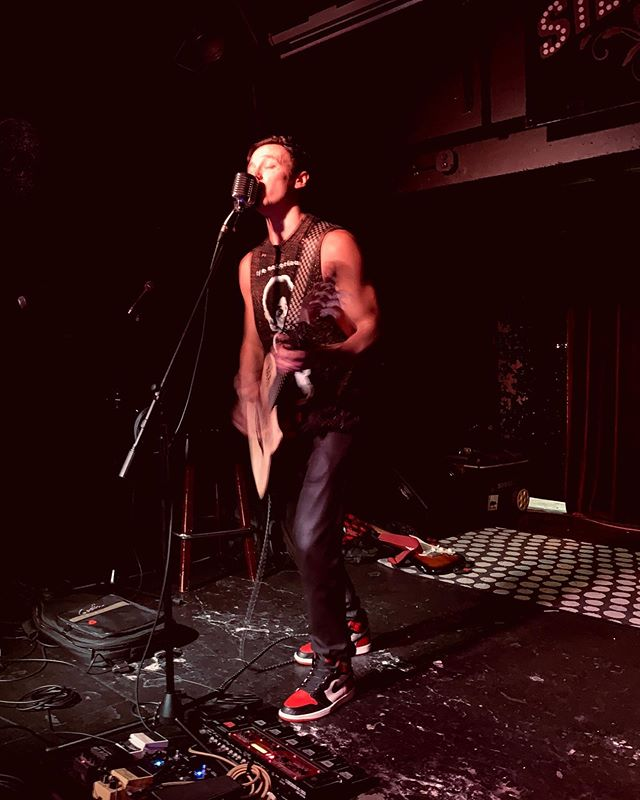 Big thanks to everyone who came out last night! I feel incredibly fortunate to have so many great people in my life 🙏🏼 — 📸 @miranda_and_the_muse
