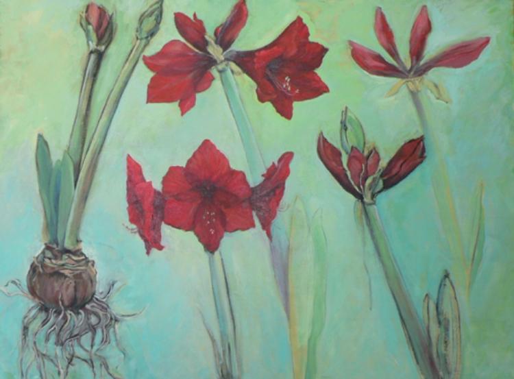 "Denise Heischman,  Transformation    Acrylic on Canvas , 30""x40""  Price, $3,000"