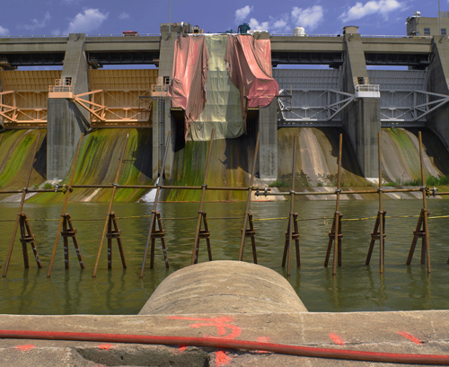 "Gunther Cartwright,  Eagle Creek Dam, C Print Photograph 16""x24""     Price $600 Unframed"