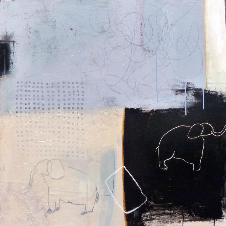 Belinda Bryce,  Abundant Sky , oil on panel,  Price